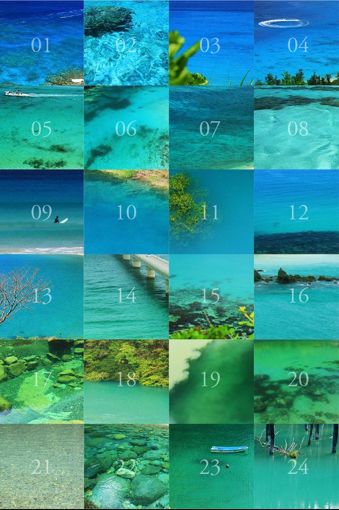 国内の透明度の高い青い海川1502japanseariver.jpg