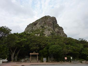 伊江島-城山