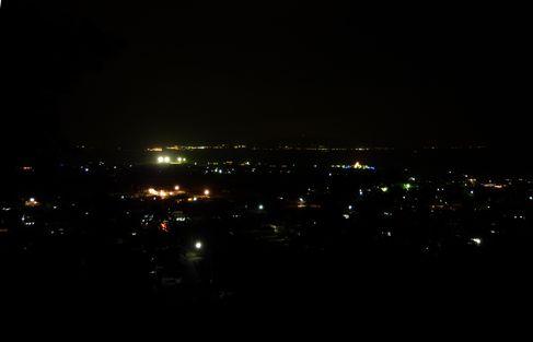 伊江島からの夜景