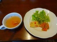 シュエットランチのスープと前菜