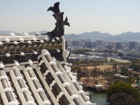姫路城の天守閣6階