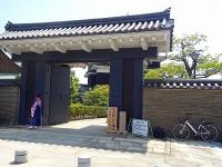清州城 大手門