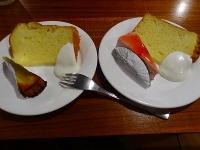 ケーキ2種類
