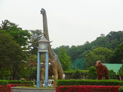 岡崎市東公園恐竜1