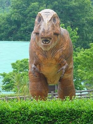 岡崎市東公園恐竜2