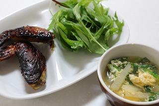 鶏手羽醤油麹焼き