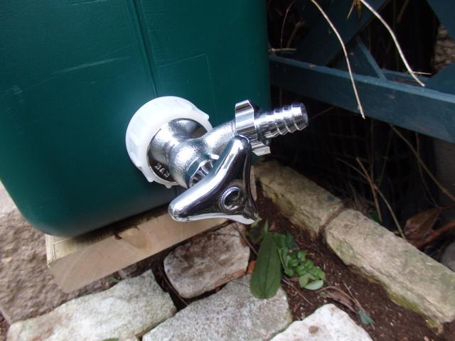 水栓を交換