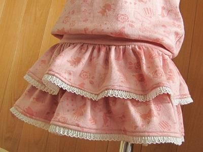 二段スカート