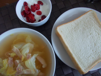 ごはん 朝食