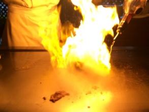 「水戸プラザホテル」の「鉄板焼き甚」は最高♪もてなし申し分無し^_^