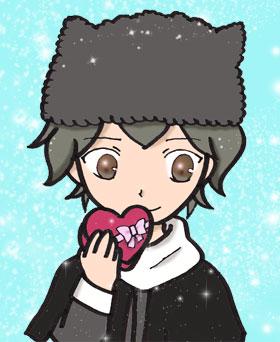 冬の七夕ねこみみ帽