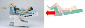 最新型の腰椎牽引マシーン
