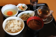 卵掛けご飯セット500円ランチ