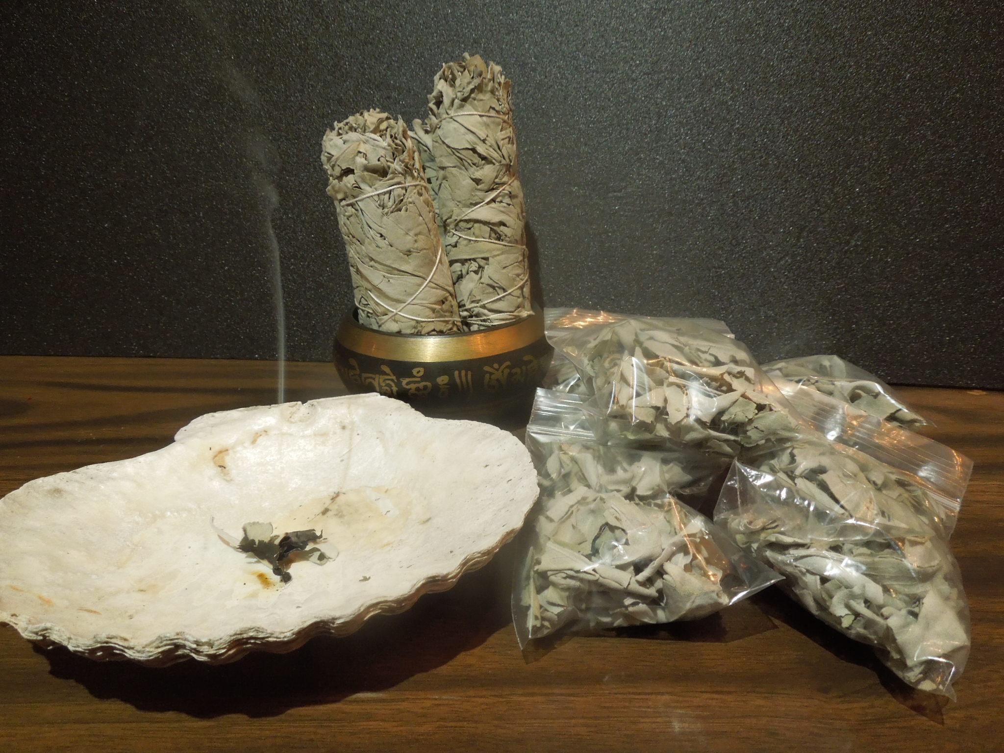 カリフォルニア産 White Sage Bundleホワイトセージ バンドル40~50g