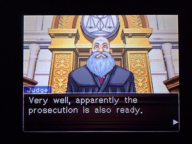 逆転裁判 北米版 審理二日目開廷5