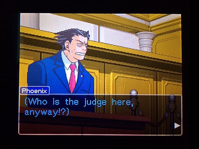 逆転裁判 北米版 審理二日目開廷6