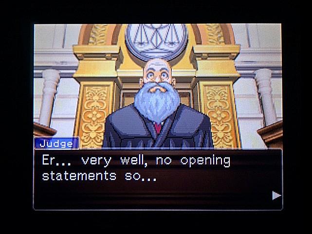 逆転裁判 北米版 審理二日目開廷8