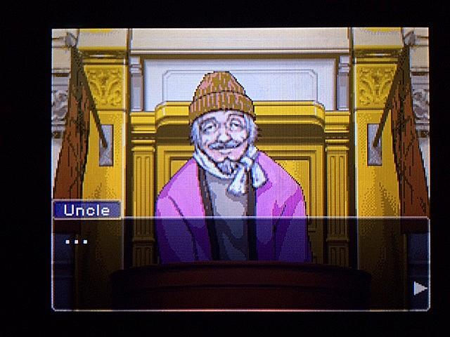 逆転裁判 北米版 ボート小屋の管理人入廷3