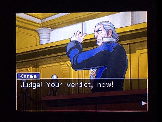 逆転裁判 北米版 オジサンの証言10