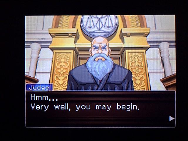 逆転裁判 北米版 オジサンの証言13