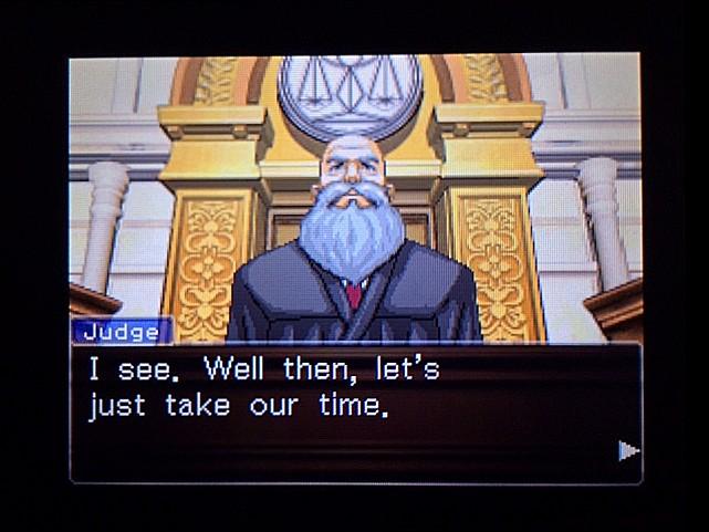 逆転裁判 北米版 オジサンの証言18