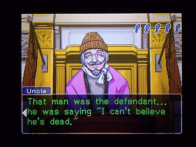 逆転裁判 北米版 オジサンの証言29
