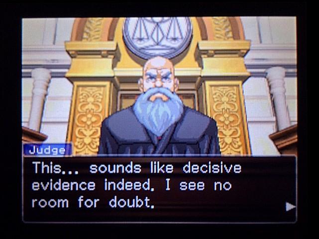 逆転裁判 北米版 ディサイシヴ・エヴィデンス2