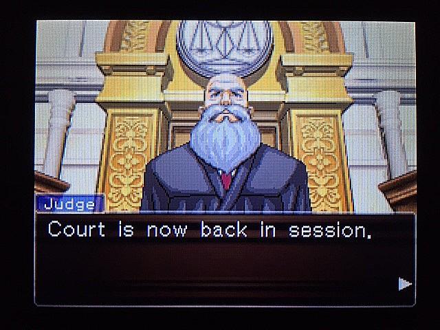 逆転裁判 北米版 ラリーの証言スタート2