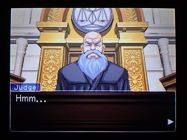 逆転裁判 北米版 ラリーの証言スタート13