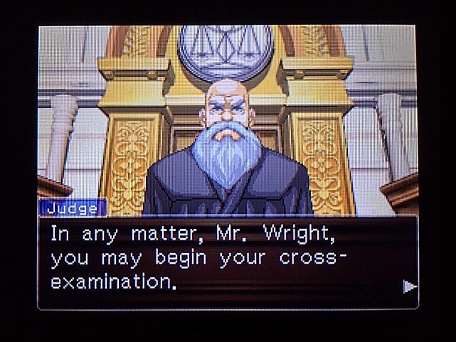 逆転裁判 北米版 ラリーの証言スタート15