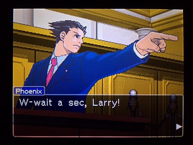 逆転裁判 北米版 ラリー・バッツが聞いたモノ4