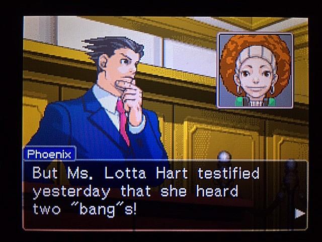 逆転裁判 北米版 ラリー・バッツが聞いたモノ8