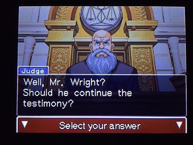 逆転裁判 北米版 ラリー・バッツの証言?続き7