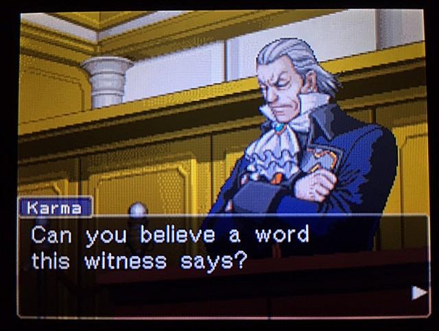 逆転裁判 北米版 ラリー・バッツの証言?続き24