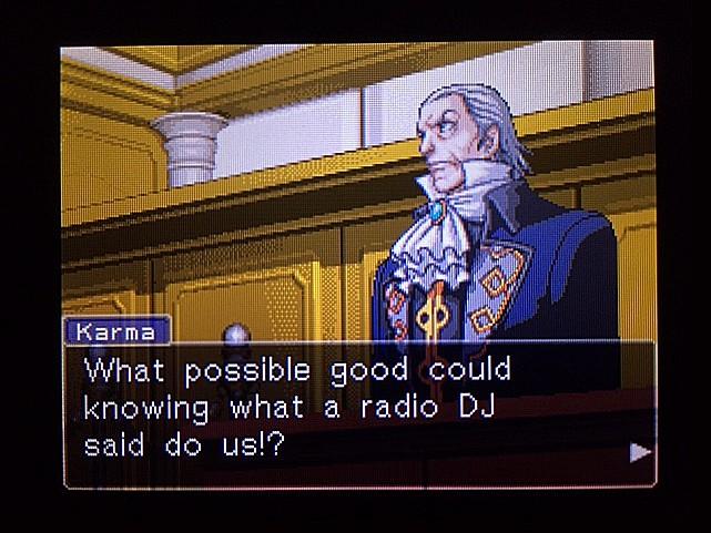 逆転裁判 北米版 DJの言葉4