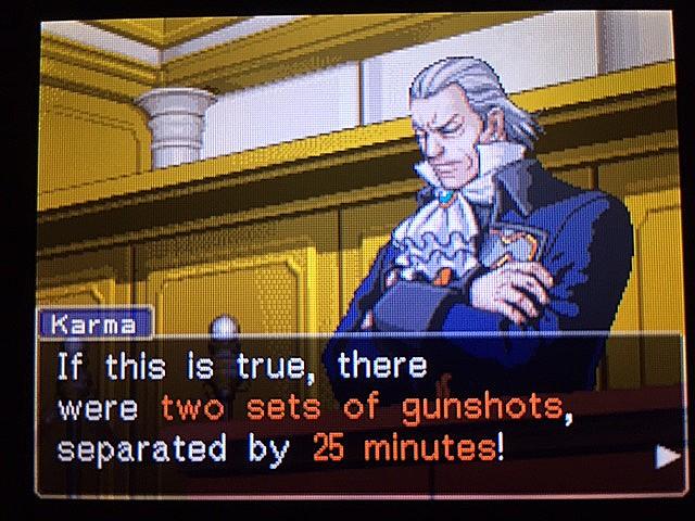 逆転裁判 北米版 クリスマスとイヴの銃声19