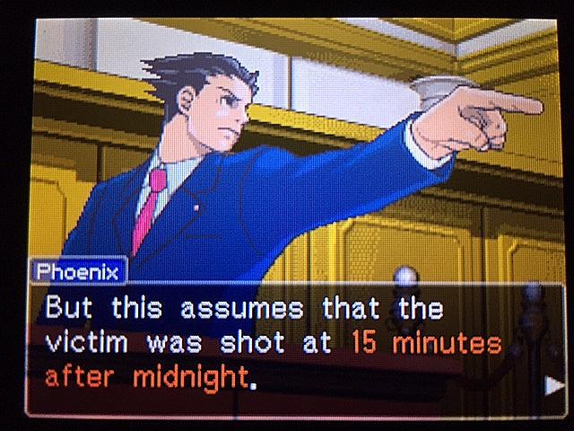 逆転裁判 北米版 最初の銃声の意味26