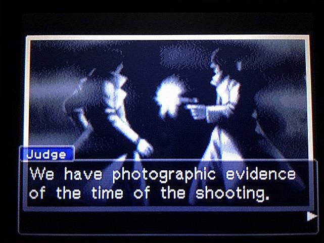 逆転裁判 北米版 最初の銃声の意味29