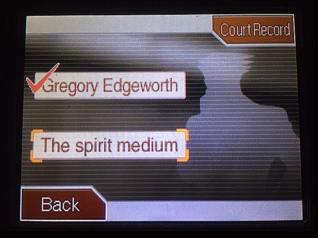 逆転裁判 北米版 グレゴリー・エッジワース13