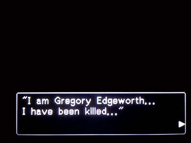 逆転裁判 北米版 グレゴリー・エッジワース16