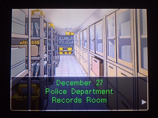 逆転裁判 北米版 DL-6資料捜索へ16