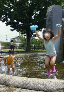 ブログ2 0614水遊び