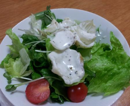 ユリ根のサラダ