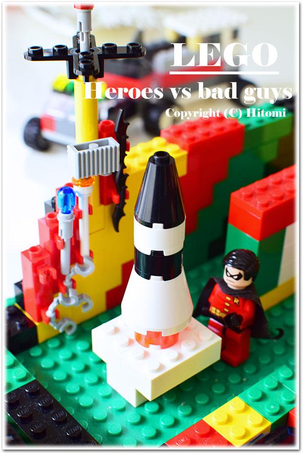 LEGO ミサイル