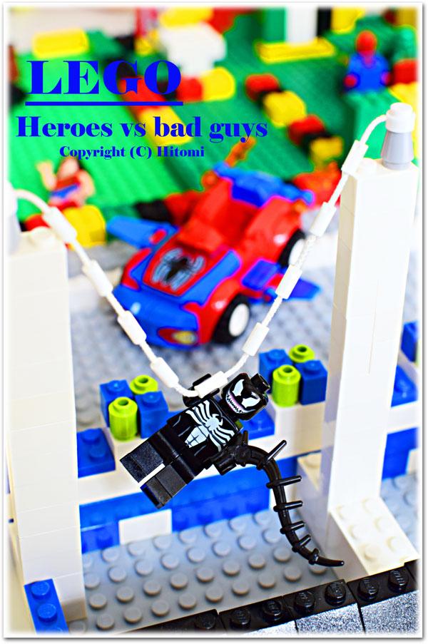 LEGO ブラックスパイダーマン