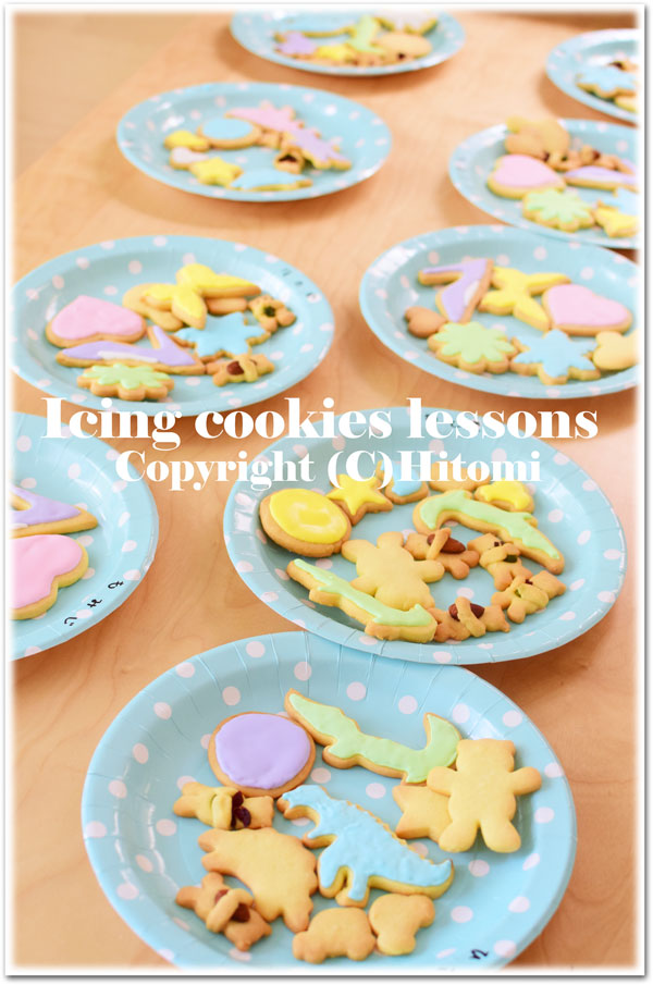 アイシング教室ベースクッキー