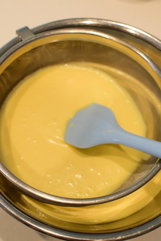 スフレチーズ工程2