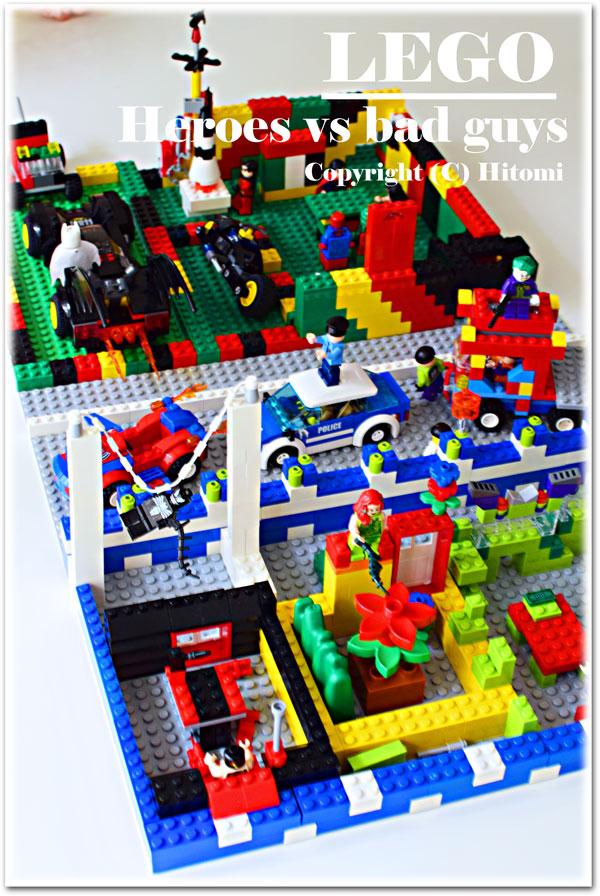 レゴ・ヒーロVS悪者