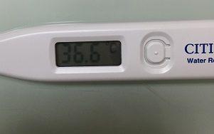 16日の体温