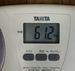 2月最終体重